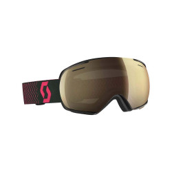 MASQUE DE SKI LINX BLACK/PINK LIGHT SENSITIVE BRONZE CHROME