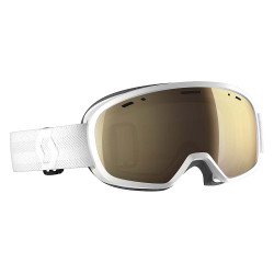 MASQUE DE SKI BUZZ PRO WHITE LIGHT SENSITIVE BRONZE CHROME