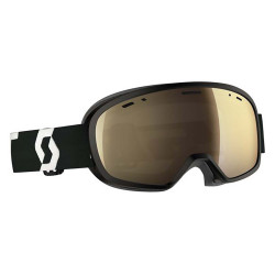 MASQUE DE SKI BUZZ PRO BLACK/WHITE LIGHT SENSITIVE BRONZE CHROME
