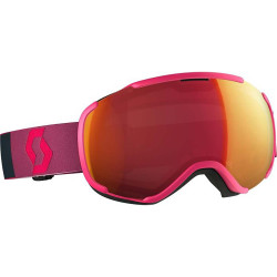 MASQUE DE SKI FAZE II PINK ILLUMINATOR RED CHROME