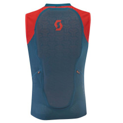 LIGHT VEST M'S ACTIFIT PLUS LUNAR BLUE/RADIANT RED