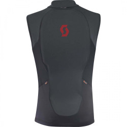 THERMAL VEST W'S ACTIFIT PLUS BLACK RUBY RED