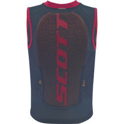 DORSAL VEST PROTECTOR JR ACTIFIT PLUS NIGHTFALL BLUE/RUBY RED