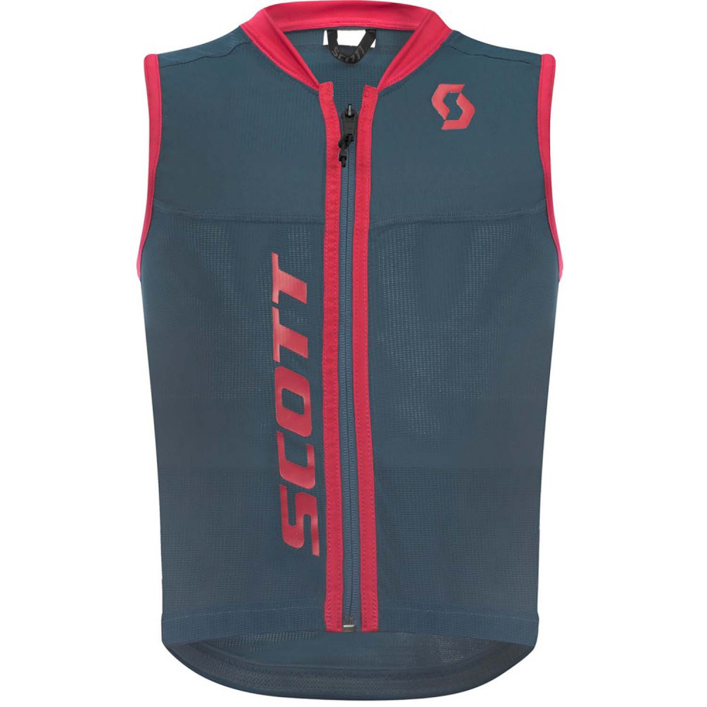 PROTECTION DORSALE VEST PROTECTOR JR ACTIFIT PLUS NIGHTFALL BLUE/RUBY RED