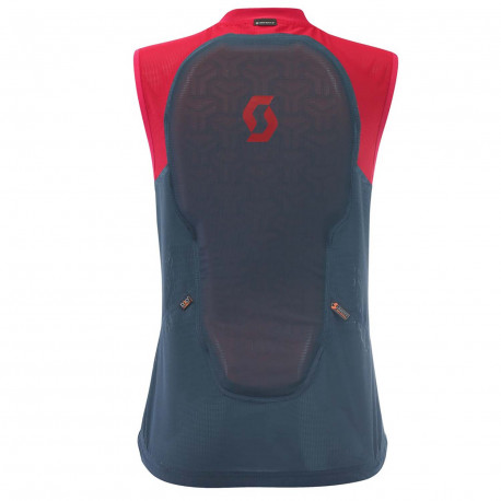 LIGHT VEST W'S ACTIFIT PLUS NIGHTFALL BLUE/RUBY RED