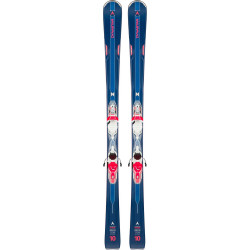 SKI INTENSE 10 + FIXATIONS XPRESS W 11 B83 WHITE/CORAIL FLUO