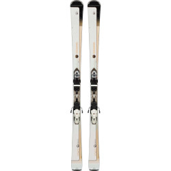 SKI FAMOUS 8 + FIXATIONS XPRESS W 11 B83 BLACK/WHITE