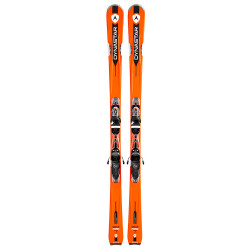 SKI SPEED ZONE 7 ORANGE + FIXATIONS XPRESS 11 B83 BLACK/WHITE