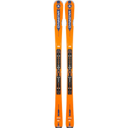 SKI SPEED ZONE 6 + FIXATIONS XPRESS 11 B83 BLACK/WHITE