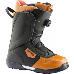 BOOTS DE SNOWBOARD CRANK BOA H3 GREEN/BROWN