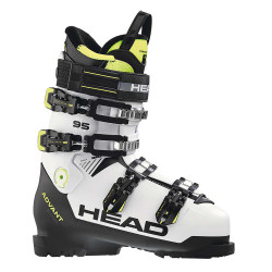 CHAUSSURE DE SKI ADVANT EDGE 95 WHITE/BLACK - YELLOW