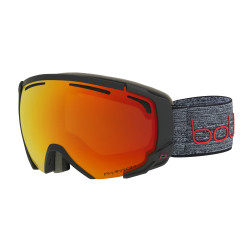 MASQUE DE SKI SUPREME OTG MATTE DARK GREY & RED NXT MODULATOR FIRE RED