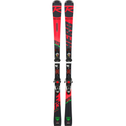 SKI HERO ELITE ST TI + FIXATIONS NX 12 KONECT DUAL B80 BK/ICON
