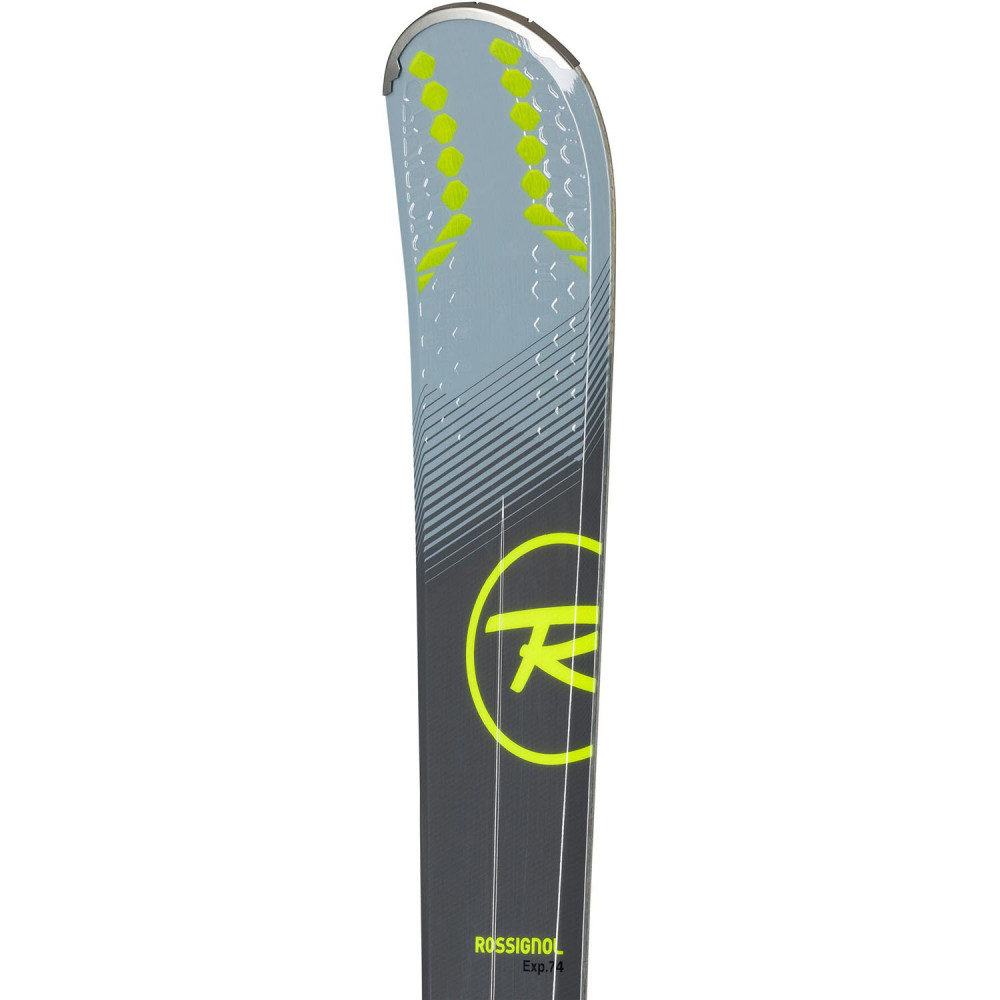 SKI EXPERIENCE 74 + FIXATIONS XPRESS 10 B83 BLACK/YELLOW