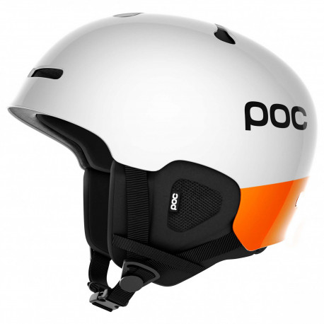 CASQUE DE SKI AURIC CUT HYDROGEN WHITE ZINC ORANGE