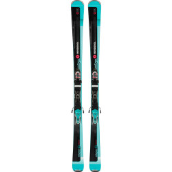 SKI FAMOUS 2 + FIXATIONS XPRESS W 10 B83 BLACK/BLUE