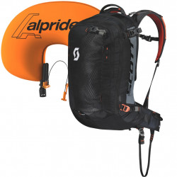 SAC A DOS PACK GUIDE AP 30 KIT BLACK/BURNT ORANGE