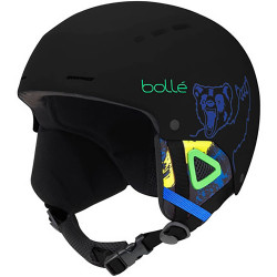 CASQUE DE SKI QUIZ MATTE BLACK BEAR