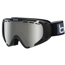 MASQUE DE SKI EXPLORER OTG SHINY BLACK BLACK CHROME
