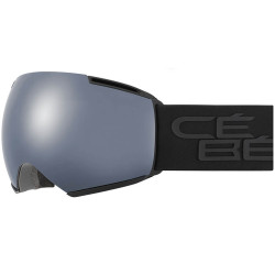 MASQUE DE SKI ICONE FULL BLACK BROWN FLASH MIRROR CAT.3 - AMBER FLASH MIRROR CAT.1