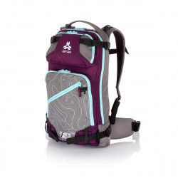 SAC A DOS BACKPACK CALGARY 22 PURPLE GREY