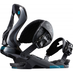 FIXATION DE SNOWBOARD COBRA BLACK