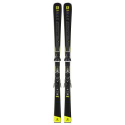 SKI S MAX 10 + FIXATIONS Z11 WALK L80 BLACK/WHITE