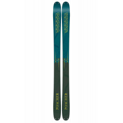 SKI POACHER + FIXATION DE SKI GRIFFON 13 ID 110 MM BLACK
