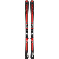 SKI SPEED ZONE 7 BLACK + FIXATIONS XPRESS 11 B83 BLACK/RED