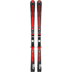 SPEED ZONE 7 BLACK plus FIXATIONS XPRESS 11 B83 BLACK/RED