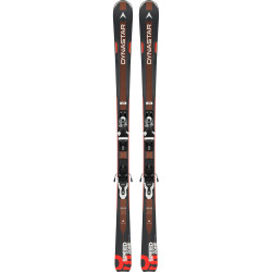 SKI SPEED ZONE 5 + FIXATIONS XPRESS 10 B83 BLACK/WHITE