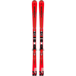 SPEED ZONE 7 RED + FIXATIONS XPRESS 11 B83 BLACK/RED