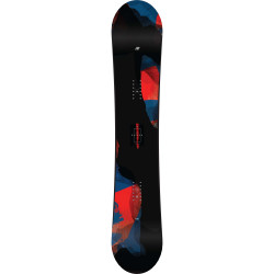 SNOWBOARD RAYGUN + FIXATIONS SONIC BLACK - Taille: L