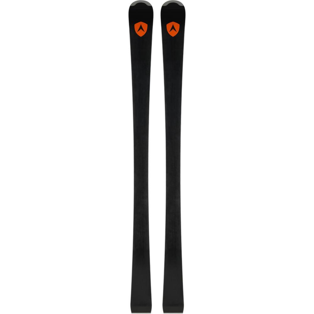 SKI TEAM COMP + FIXATIONS XPRESS JR 7 B83 BLACK/WHITE