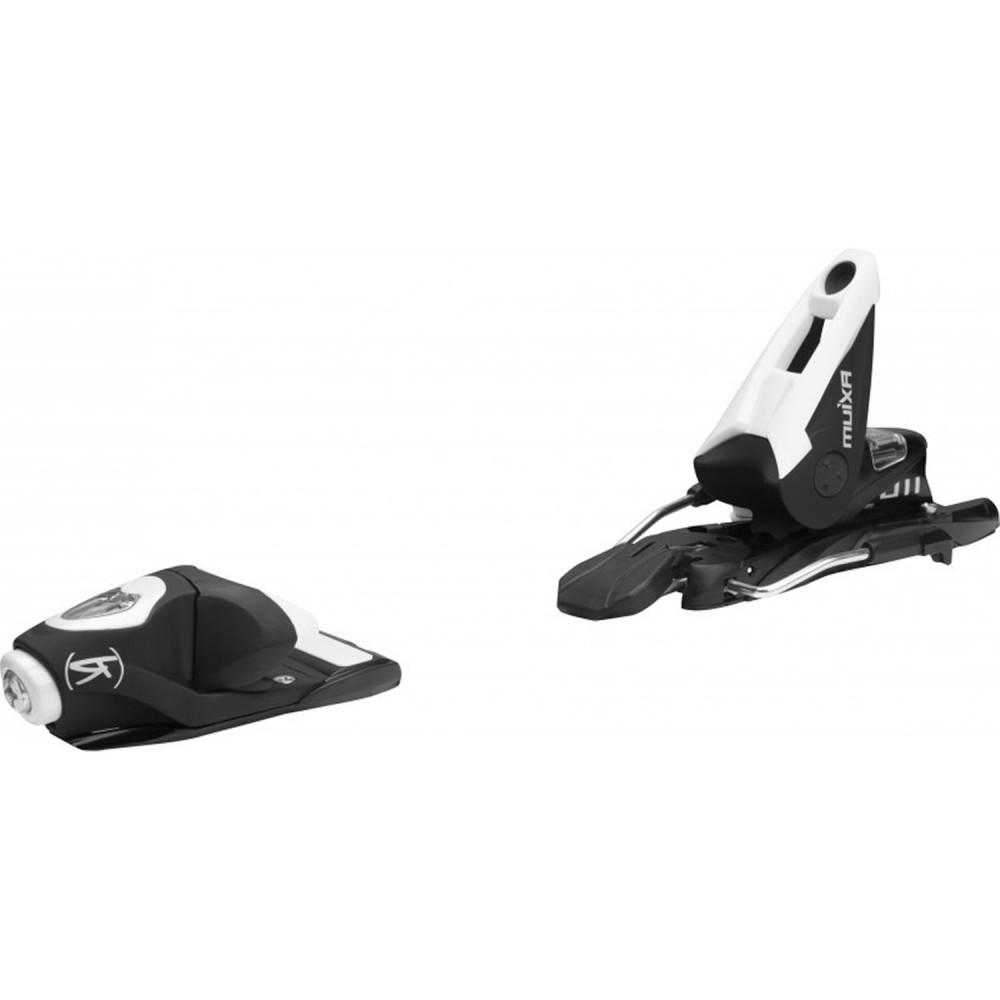 SKI PUNISHER 95 + FIXATION AXIUM 110 B100 BLACK/WHITE