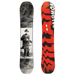 SNOWBOARD THE VILLAIN + FIXATIONS K2 SONIC BLACK  - Taille: XL