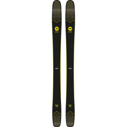 SKI SOUL 7 HD + FIXATION SPX 12 DUAL WTR B120 BLACK YELLOW