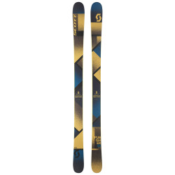 SKI PUNISHER 95 + FIXATION SQUIRE 11 90MM BLACK/ANTHRACITE