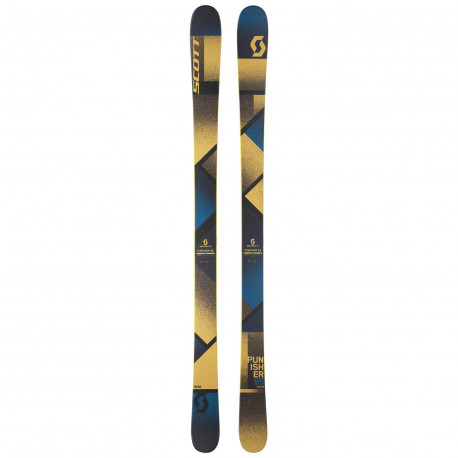 SKI PUNISHER 95 + FIXATION SQUIRE 11 90MM RED