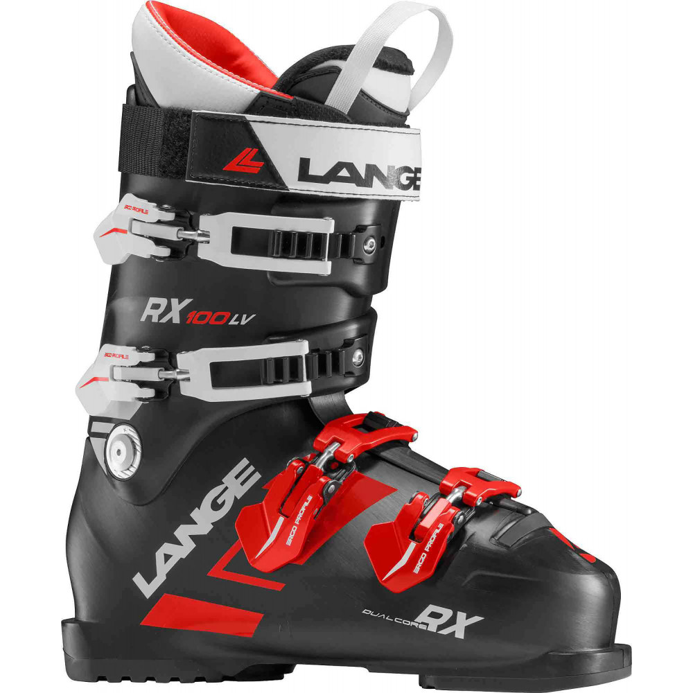 SKI BOOTS RX 100 L.V. BLACK/RED