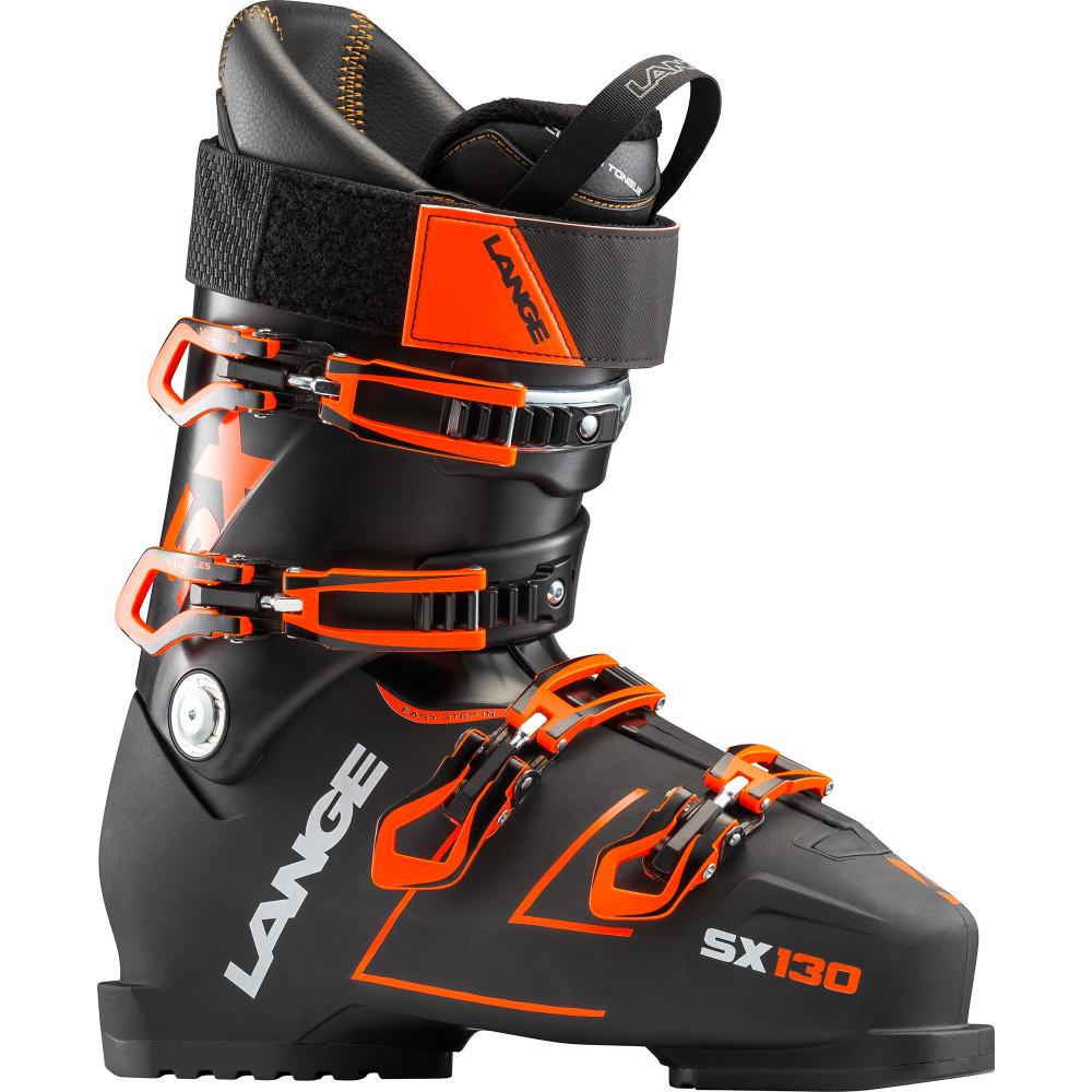 SKI BOOTS X 130 BLACK/ORANGE