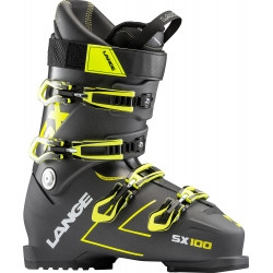 CHAUSSURES DE SKI SX 100 ANTHRACITE/YELLOW