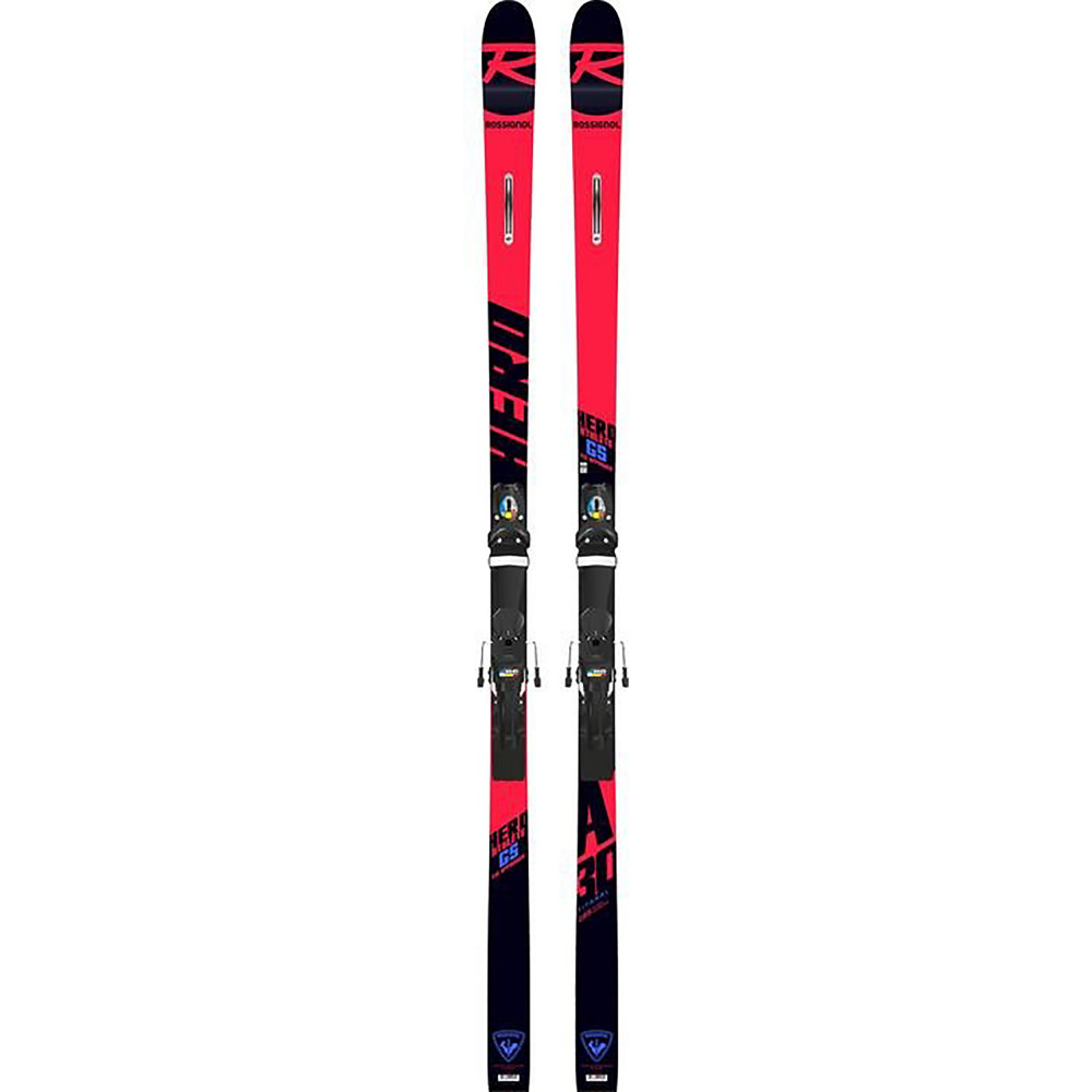 SKI HERO ATHLETE FIS GS FACTORY (R22) + FIXATIONS PX 18 WC ROCKERFLEX BLAC