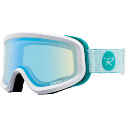 MASQUE DE SKI ACE W HP FLOWER AQUA - CYL