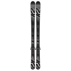 SKI KONIC 75 + FIXATIONS M2 10 QUICKCLIK BLACK