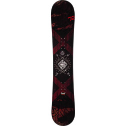 SNOWBOARD CIRCUIT + FIXATIONS BATTLE BLACK M/L