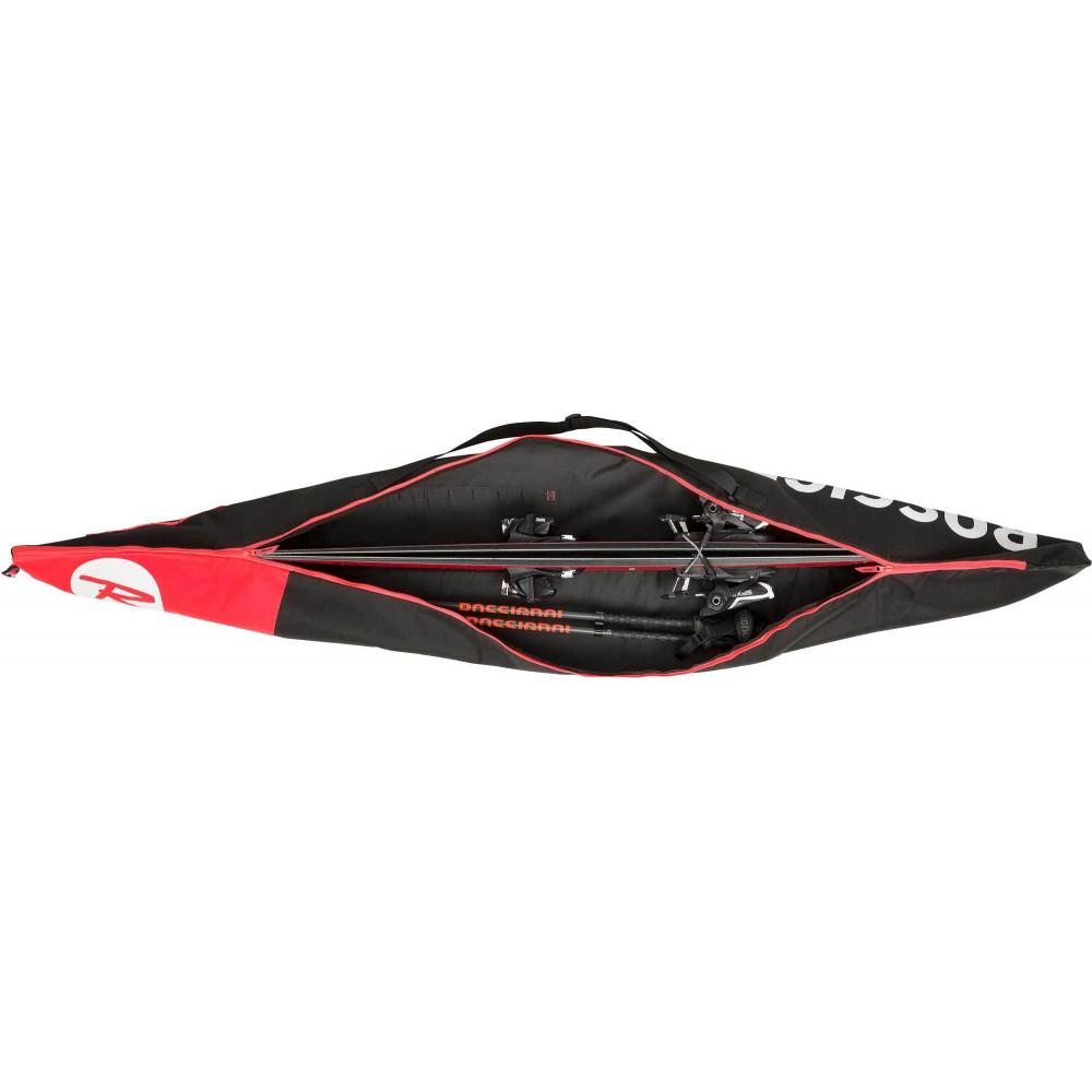 HOUSSE A SKI TACTIC SKI BAG EXT LONG 160-210