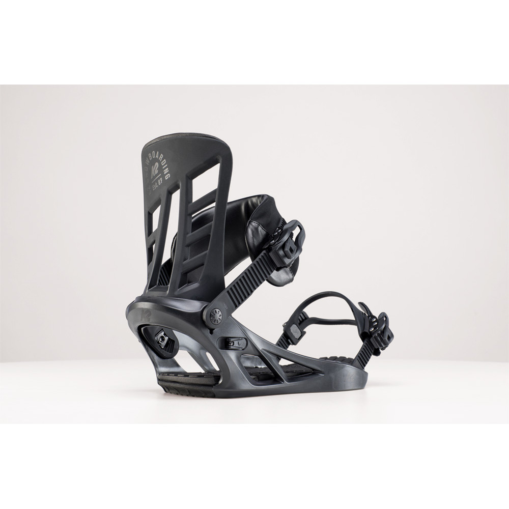 FIXATION DE SNOWBOARD INDY BLACK
