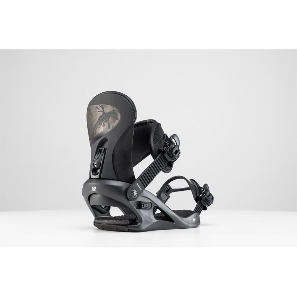 FIXATIONS DE SNOWBOARD CASSETTE BLACK