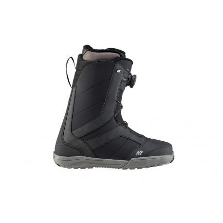 BOOTS DE SNOWBOARD RAIDER BLACK